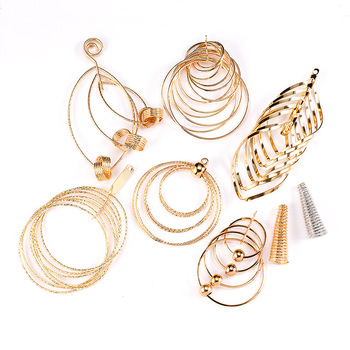 Fashion Gold Metal Tassel Pendants For Women Jewelry Making Findings Diy Earrings Accessories Hand Made Jewelry Materials