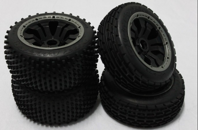 baja 5b power rim off road wheels set for HPI rovan KM kingmotor baja 5b off road front wheels set only 2pc front