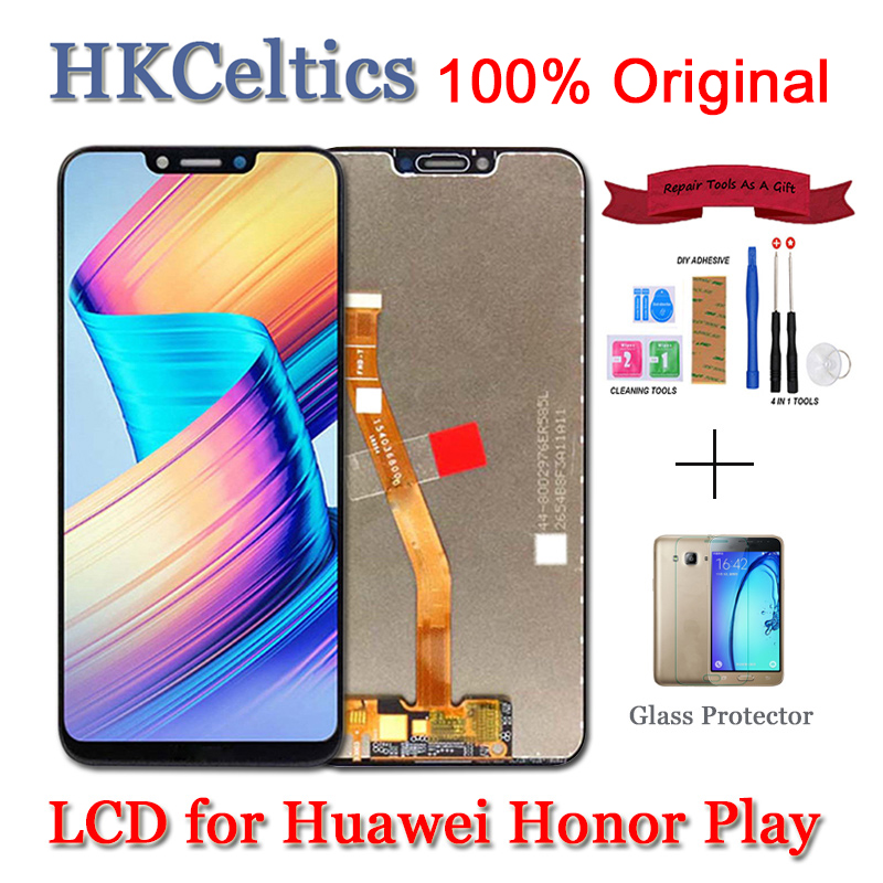 Original For Huawei Honor Play COR L29 LCD Display Digitizer Touch Screen Assembly For Huawei honor play LCD Screen Replacement