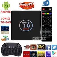 Chycet T6 TV Box Amlogic S905X Quad Core TV Box 1 8GB 2 16GB WiFi Smart