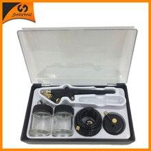 SAT5115 airbrush double action Kits Nozzle 0.8mm Air Brush Pressure Airbrush Tools Diy For Cake Painting Painting Mini Gun