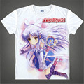 Anime Angel Beats Cosplay T Shirt AngelBeats Nakamura Yuri cartoon t-shirt new fashion men girl children cosplay tees for gift