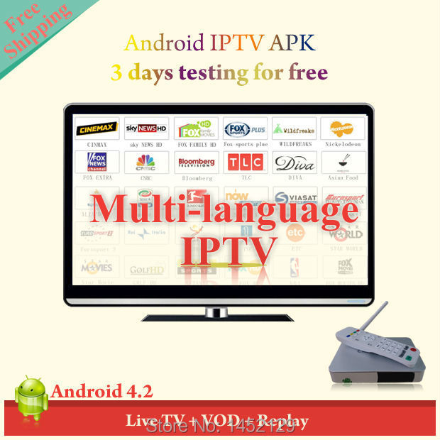 US $320 0 |Asian European Japan IPTV HD Live Streaming Android APK China HK  TW/US/ JP 1yr viewing-in Set-top Boxes from Consumer Electronics on