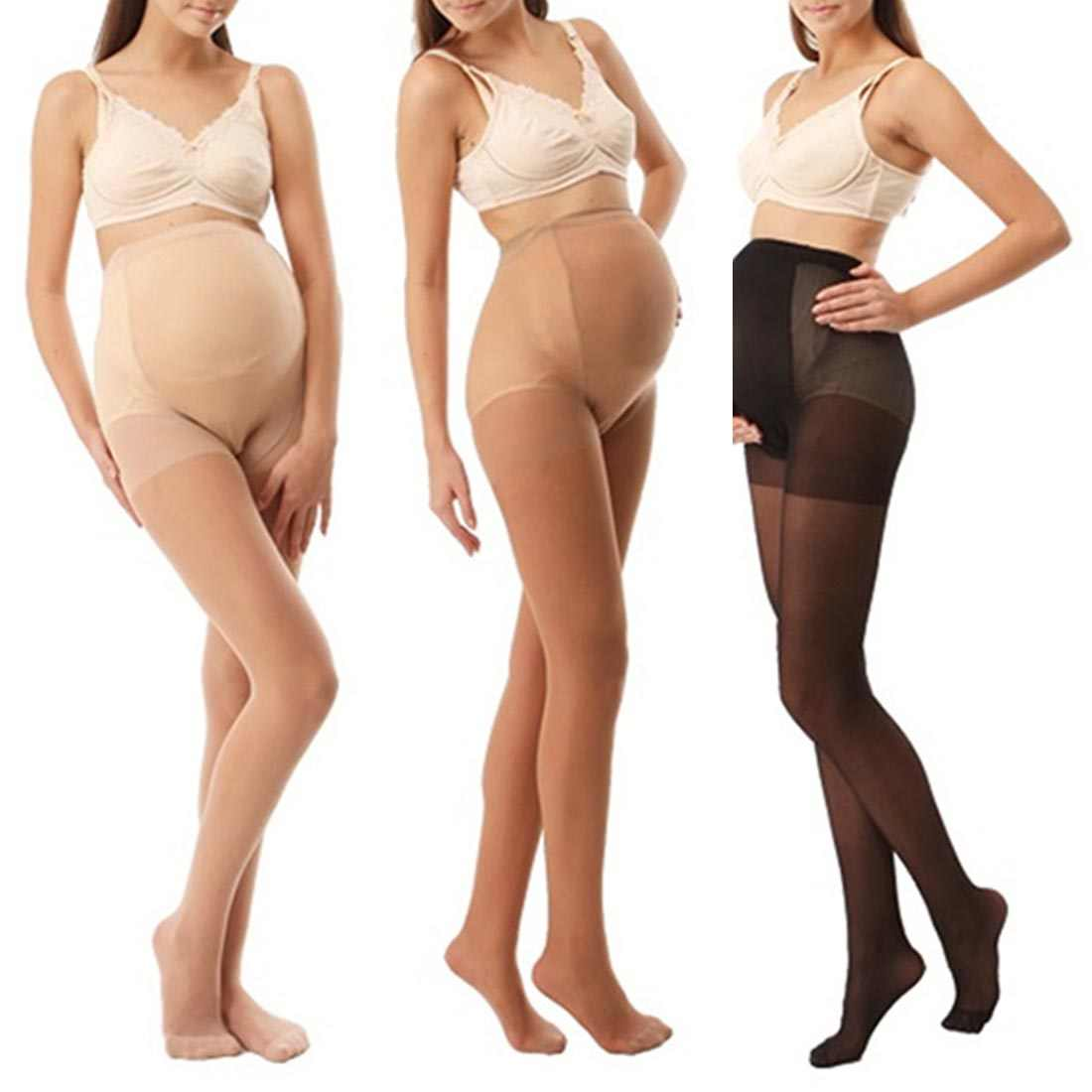 Clothes for pregnant women summer Pantyhose Full protection Thin Solid Oversized Bottom maternity pants