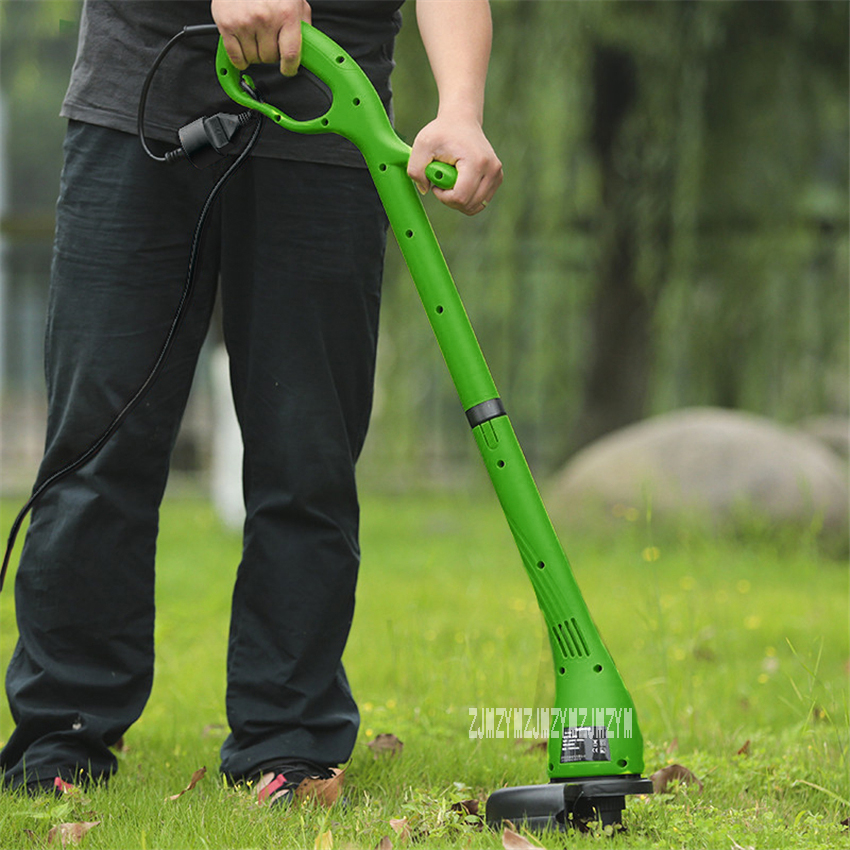 цена на YL-400 Electric Lawn Mower Home Lawn Machine Cutting Grass Trimmer Portable Foldable Garden Tools Mower Grass Cutter 220V 400W