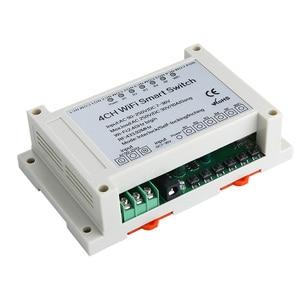 Image 5 - KTNNKG 4CH WIFI Relay Receiver 110V AC 90 250V & 12V DC7 36V Universal Basic Power Switch Wireless Remote Control for Smart Home