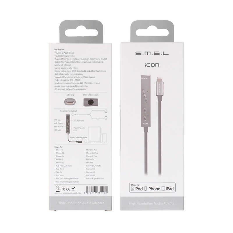 SMSL ため SMSL アイコン雷 Dac アンプ iphone ipod ipad iOS スイッチングライン Hifi プロフェッショナルケーブル