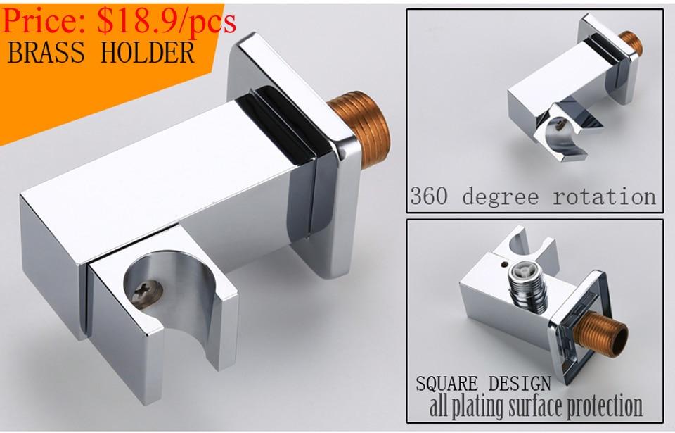 C& C ручной душ ручной душевая головка вентиль аксессуары для ванной комнаты продукты хромированные готовые круглые ручные насадки для душа