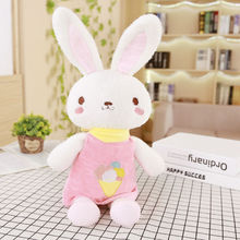 50/75/95 cm Soft Rabbit Plush Toy Stuffed Animal Cartoon Rabbit Toys Soft Gift For Girl's Room Bed Toy Decoration