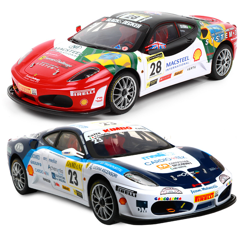 Image 4 - Remote control car for F430 special edition 4WD drift racing champion 2.4G off road Rockstar wireless remote control car-in RC Cars from Toys & Hobbies