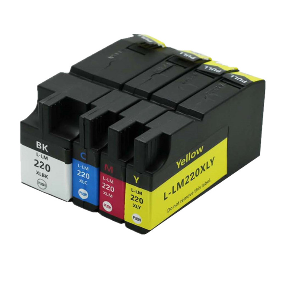 Ink Cartridges Compatible For Lexmark220 220xl 220 xl For OfficeEdge Pro4000c Pro4000 Pro5500 Pro5500t Printer Ink InkjetInk Cartridges Compatible For Lexmark220 220xl 220 xl For OfficeEdge Pro4000c Pro4000 Pro5500 Pro5500t Printer Ink Inkjet