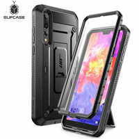 For Huawei P20 Pro Case SUPCASE UB Pro Heavy Duty Full-Body Rugged Peotective Case with Built-in Screen Protector & Kickstand