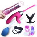 6PCS  Couples Sex toys packages Prostate Stimulation Massager Cock Ring and Butt Plug  vagina  clitoris vibrators sex products