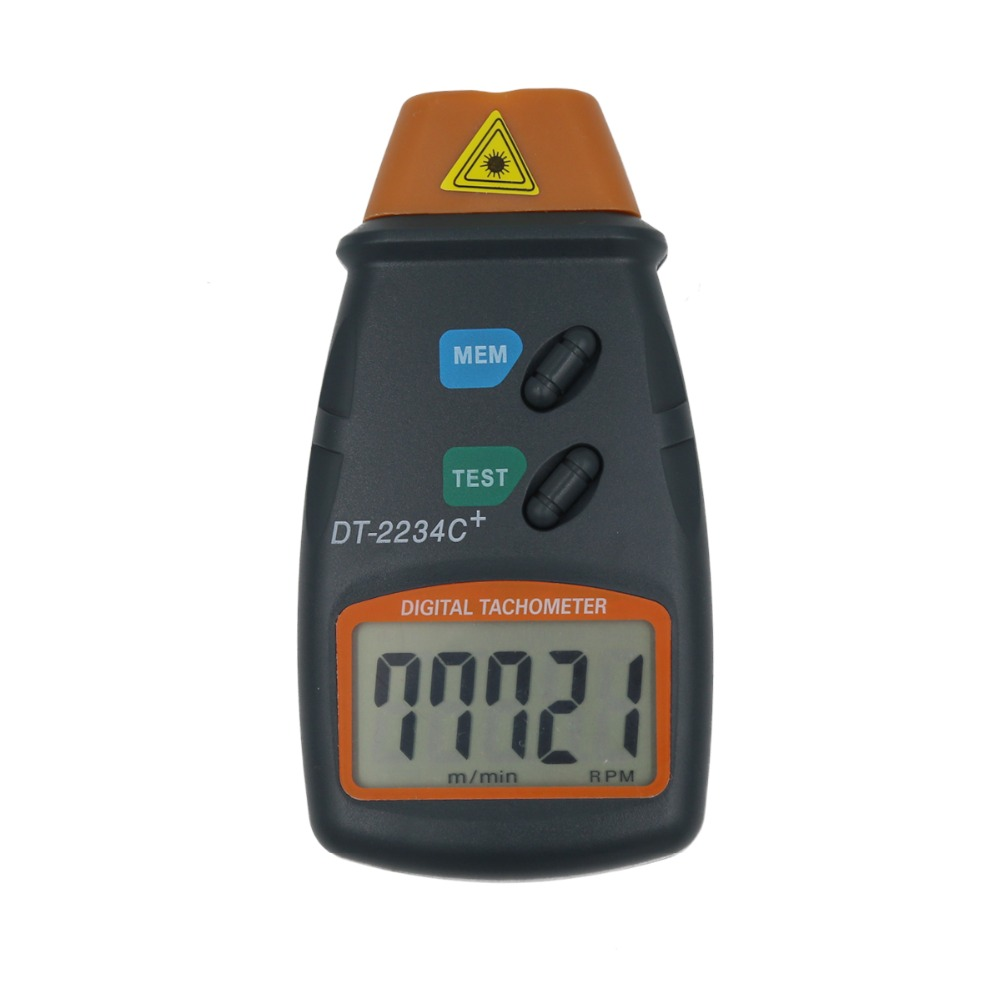 DT-2234C Digital Laser Tachometer Non-contact Engine Speed Meter Speedometer  30%off