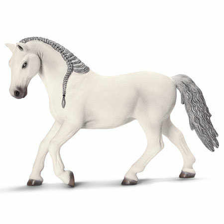 RIAN DAY Animals Figure Model Toys World Famous Horse:Arab,Friezen,Lipizzan PVC Figure Model Toy for Gift,Kids,Collection