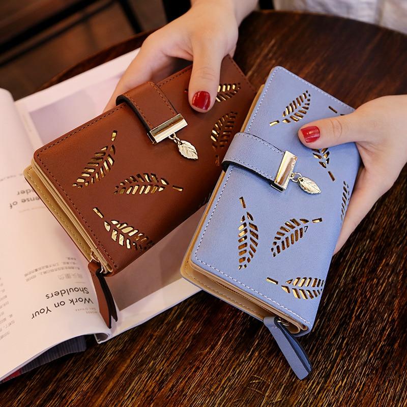 DALFR Pu-leder Brieftasche Frauen Weihnachtsgeschenk Luxus Weibliche ...
