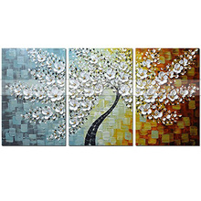 Modular Pictures 3D Art Flower Lotus Poster Wall Paintings For Kitchen Living Room Canvas Painting