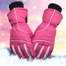 GLV868 Women cycling winter font b glove b font three layers to keep warm from the