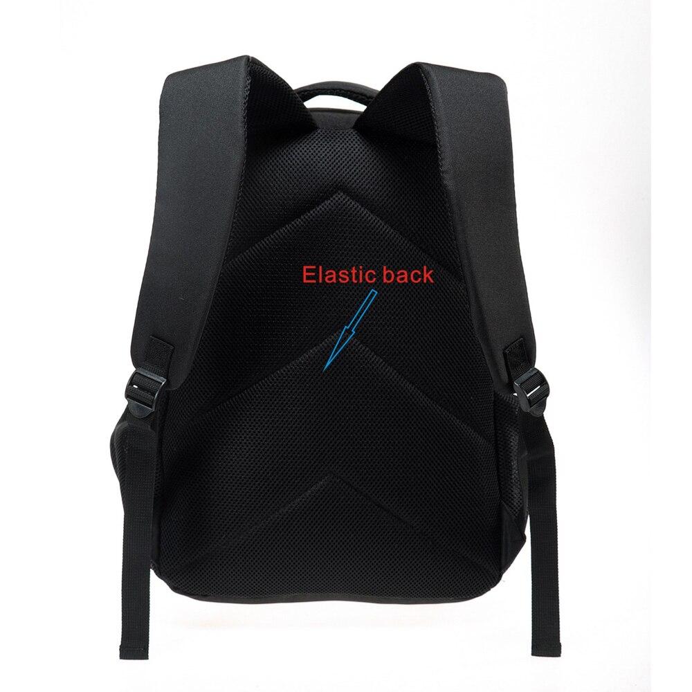Купить с кэшбэком Cool Dinosaur Print School Backpacks for Children Men 3D Large Animal Casual Travel Laptop Backbag Teenager Double shoulder bag