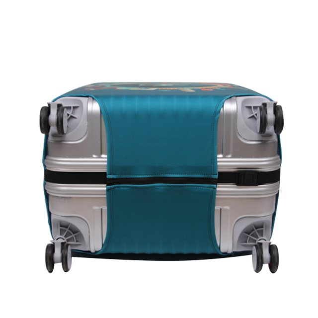 Thicker Travel Luggage Protective Cover Suitcase Case Travel Accessories Elastic Luggage Dust Cover Apply to 18''-32'' Suitcase 4