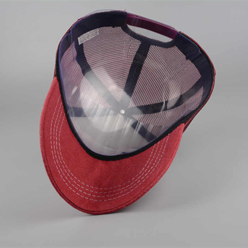 פנאי רכיבה בייסבול כובע גברים ונשים ריבאונד מתכוונן כובעי היפ הופ כובע אבא כובע קיץ מבריק נטו כובע נהג משאית כובעים