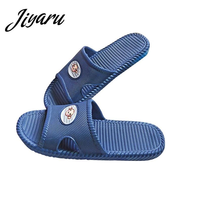 Men Boys Bathroom Slippers Male Flat Shoes for Bedroom Men Non-slip Home Slippers Men Indoor Outside Floor Casual Slippers fghgf shoes men s slippers mak