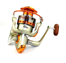 HENGJIA baitcasting fishing reels hard metal wire cup spinning fishing wheels bass trout perch pesca fishing tackles 1pc 12BB
