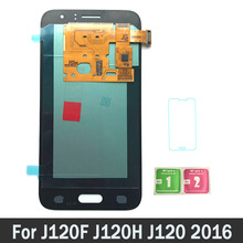 Super AMOLED ЖК-дисплей s для samsung Galaxy J1 J120F J120DS J120G J120M J120H J120 ЖК-дисплей Экран Дисплей сенсорный экран
