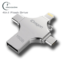 Ingelon Usb 16gb 32gb 64gb 128gb Pendrive Memory Stick for iphone