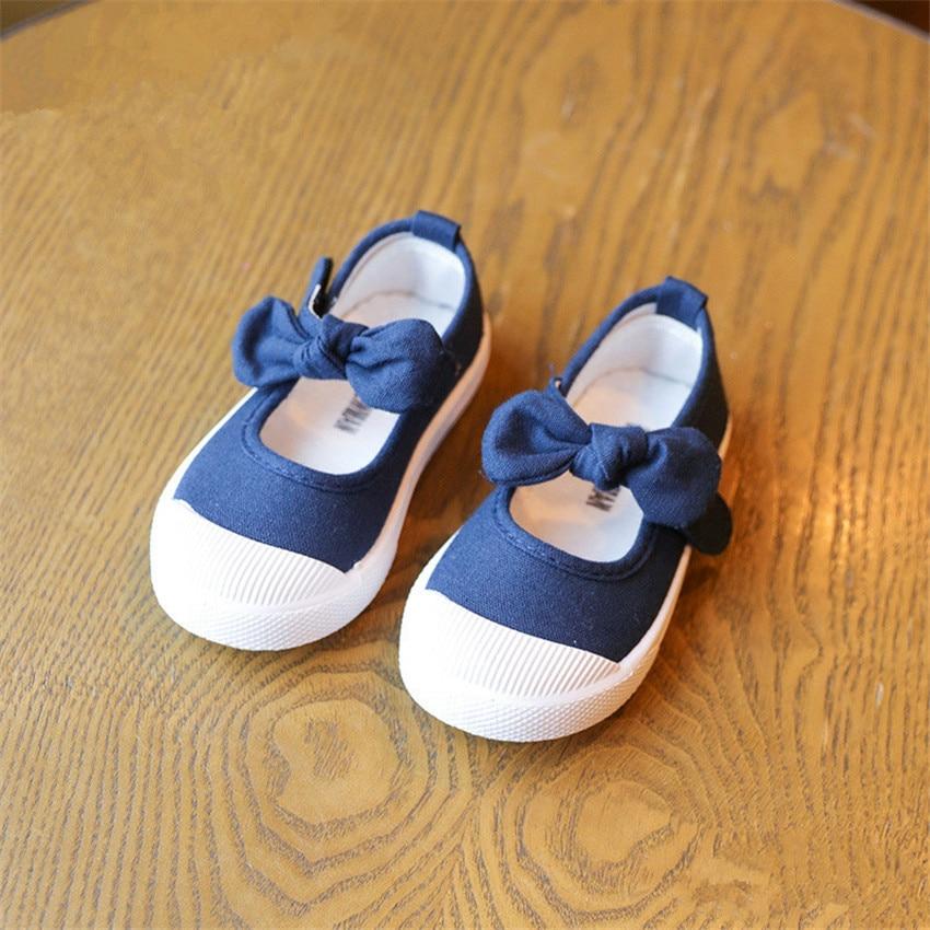 BOKEN Kids Baby Girl Dorywczo Brezentowych Butów Dzieci Miękkich - Obuwie dziecięce - Zdjęcie 4