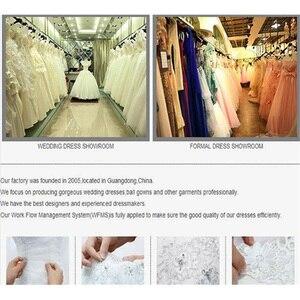 Image 5 - Shamai marfim uma camada 1t catedral véu de casamento com pente preto longo apliques véus de noiva tule branco laço véus de casamento