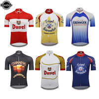 Classic BELGIUM Men Cycling Jersey racing Clothing wear Short Sleeves MTB Bicycle Cycling Clothing Maillot Ciclismo beer Diverse