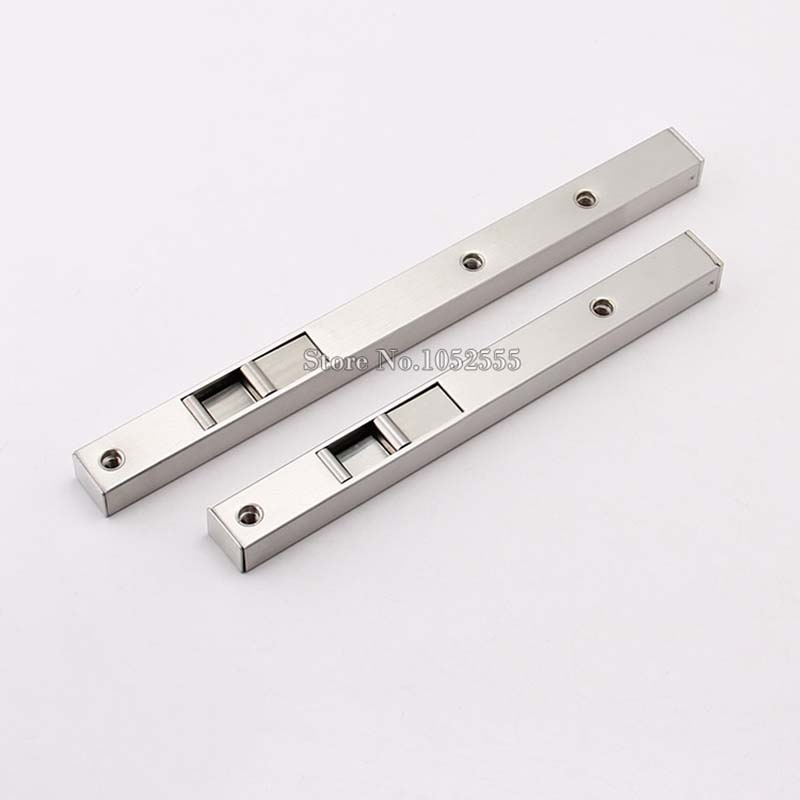 High Quality 6/8 SUS304 Stainless Steel Door Bolt Security Door Guard Lever Action Flush Latch Slide Bolt Lock K133 viborg 20cm 8 304 stainless steel door bolt security door guard lever action flush latch slide bolt lock brushed