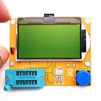 Multi Functional LCD Backlight Transistor Tester Diode Triode Capacitance ESR Meter Tester MOS PNP NPN LCR