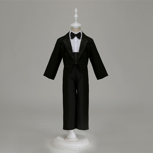 Spesialtilbud ~ Klassisk Lovely Boy's Wedding Party Suit / Boy's Smoking / Flower Boy's Dress / Baby Bryllupskjole 118