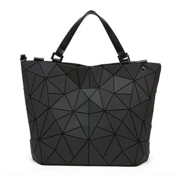 YUTUO Vrouwen Lichtgevende Messenger Bag Luxe Handtassen Vrouwen Tas Designer Vlakte Vouwen Vrouwen Crossbody Schoudertas bolsos