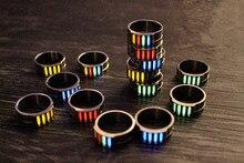 20mm Titanium Alloy Tritium Tube Tritium Gas EDC Luminous Rings Creative Gifts все цены