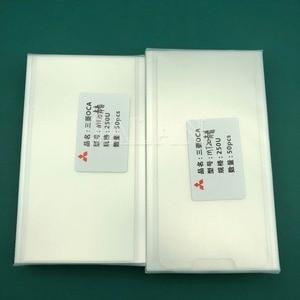 Image 5 - 250um OCA Klebstoff Für Huawei Taube 7 8 9 10 20/20 Lite Touch Screen Glas Laminieren Lcd Reparatur Für Mitsubishi oca Kleber