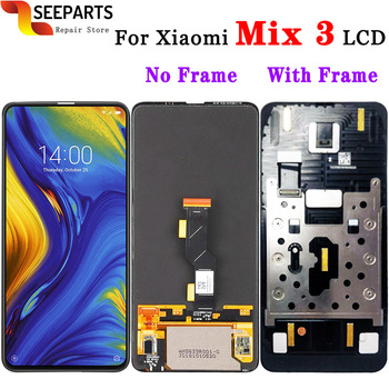 Super Amoled For Xiaomi Mix 3 Lcd Display Touch Screen Digitizer Assembly With Frame For Mi Mix3 Mix 3 LCD For Mix 3 LCD Screens
