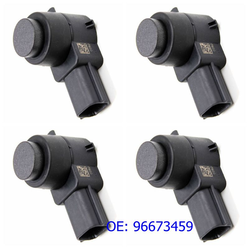 4PCS HLLADO PDC Backup Parking Sensor 96673459# 0263003521 Ultrasonic Sensor Car Reversing Radar 96673459 For G M C(China)