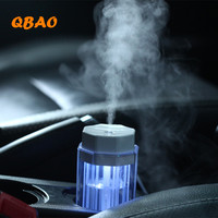 Car Humidifier Essential Oil USB 90ml Led Light Aroma Diffuser Mist Fogger For Home Office Humidificador
