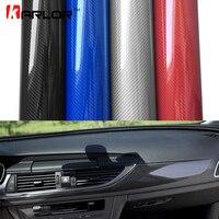 2m/5m/10m/18m*1.52m 5D Car Film Carbon Fiber Vinyl Film Carbon Fibre Wrap Sheet Roll Film Car Stickers Car Styling Accessories