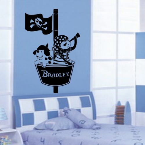 Speciální personalizované jméno Nástěnné samolepky Gymnastka Pommel Horse Boy Vlastní Wall Vinyl Decals Room Decor-you choose name and color