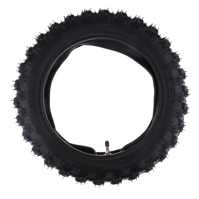 2.50 × 10 オートバイゴムスクータータイヤ & インナーヤマハ PW50 ホンダ CRF50 XR50 2.50 10 タイヤなど溝容易ではない穿刺