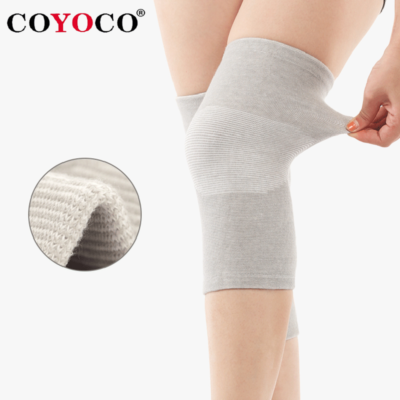 467b54e23ee0e 1 Pcs Knee Warm Support Brace COYOCO Leg Arthritis Injury Gym Sleeve  Elasticated Bandage knee Pad