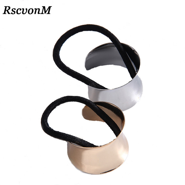 Hot Sell Fashion Gold color  Hair Accessories Hair Bands gold metal headband fashion free shipping