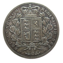 Дата 1839 1844 1845 1847 1 Корона-Виктория 1st портрет копии монет