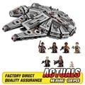 Lepin 05007 Star Wars Halcón Milenario Montaje De bloques de construcción de juguete maravilla Compatible con 10467