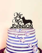 Bride and Groom Wedding Cake Toppers Mr and Mrs Wedding Cake Toppers Heart Design Wedding Decoration Custom Personalised Acrylic