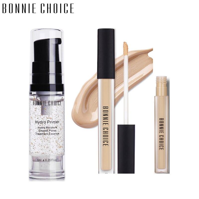 BONNIE CHOICE Hydro fond de teint maquillage fond de teint crème anti-cernes surligneurs maquillage longue durée cosmétique